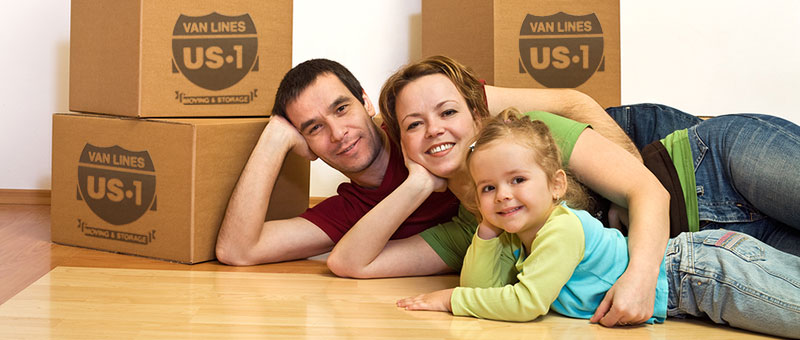 packed boxes - family moving