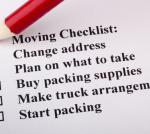 Residential Moving Checklist